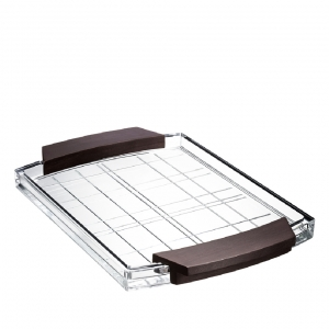 Orrefors Street Serving Tray Clear