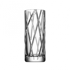 Orrefors Explicit Vase With Stripes