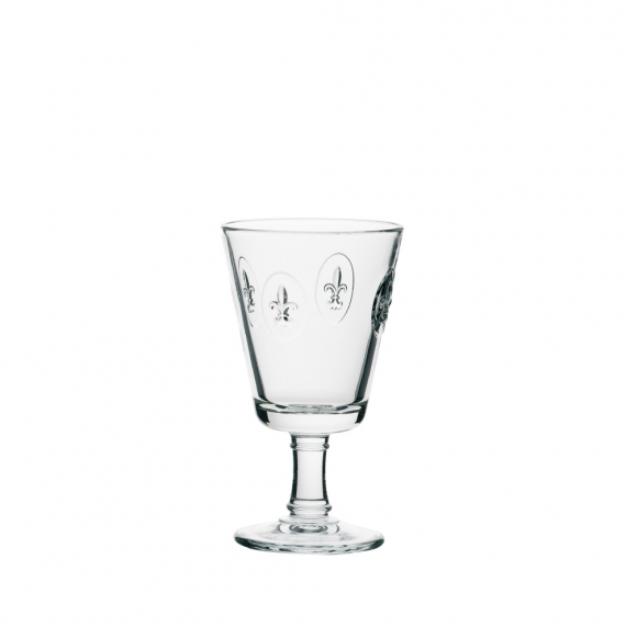 Fleur De Lys Wine Glass Set Of 6