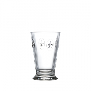Fleur De Lys Ice Tea Glass Set Of 6