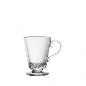 La Rochere Louison Coffee Mug Set Of 6 Clear