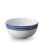 L'Objet Perlée Serving Bowl Blue