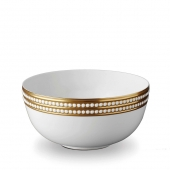 L'Objet Perlée Serving Bowl Gold