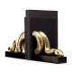 L'Objet Snake Bookend Set of 2 Gold