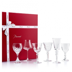 Baccarat Wine Therapy Set Clear