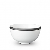 Soie Tressée Cereal Bowl Black Accents
