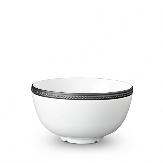 Soie Tressée Cereal Bowl - Black
