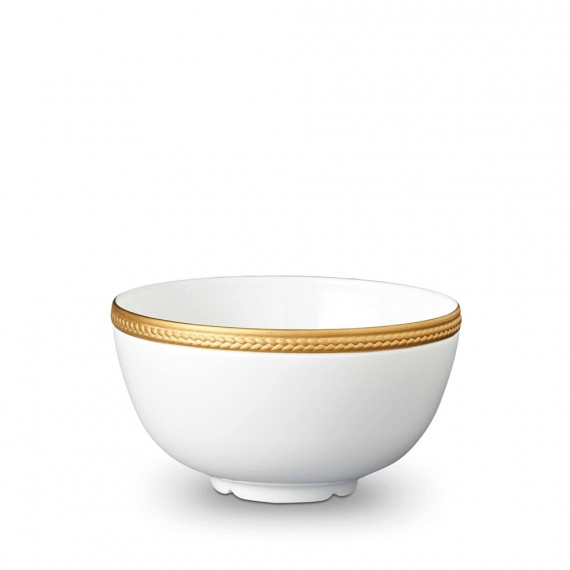 Soie Tressée Cereal Bowl - Gold
