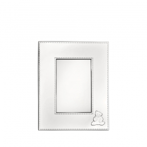 Christofle Charlie Bear Silver-Plated Picture Frame Silver