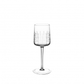 Graphik Crystal Water Glass