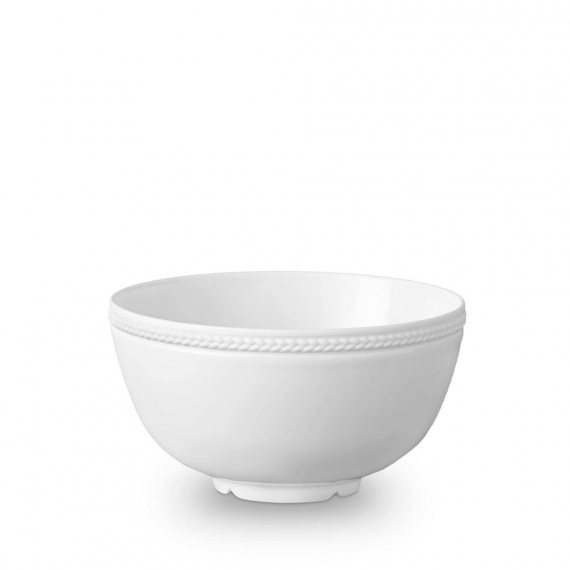 Soie Tressée Cereal Bowl - White