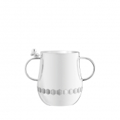 Christofle Beebee Silver-Plated Baby Cup With Handle Silver