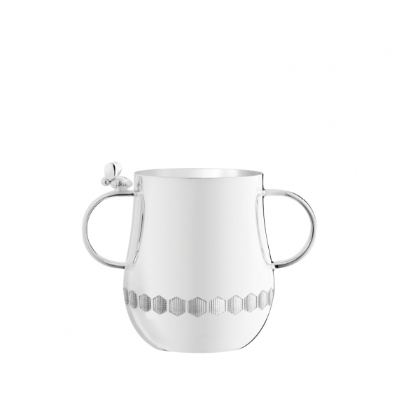 Beebee Silver-Plated Baby Cup with Handle