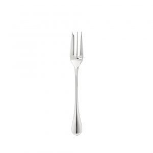 Christofle Albi Silver-Plated Serving Fork Silver