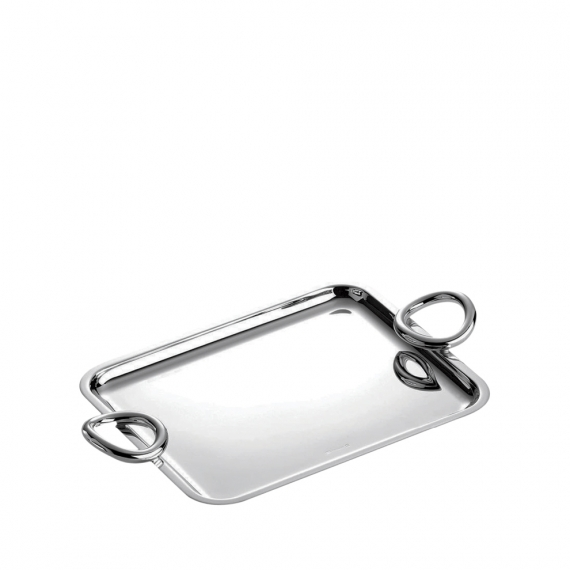 Vertigo Small Silver-Plated Tray