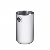 Christofle Oh De Christofle Stainless Steel Wine Bucket Silver