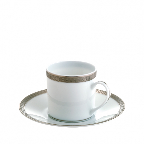 Malmaison Porcelain Demitasse Cup and Saucer
