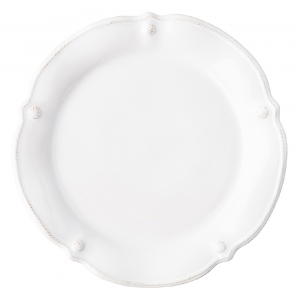 Juliska Berry & Thread Whitewash Flared Dinner Plate Set Of 4 White