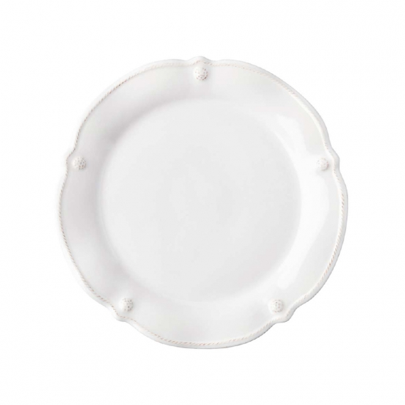 Berry & Thread Whitewash Flared Cocktail Plate Set Of 4
