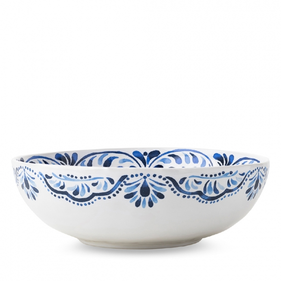"Iberian Journey Indigo 11"" Serving Bowl"