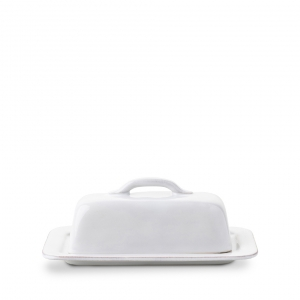 Puro Whitewash Butter Dish