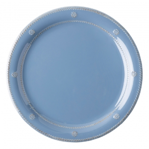 Berry & Thread Chambray Melamine Dinner Plate  Set Of 8