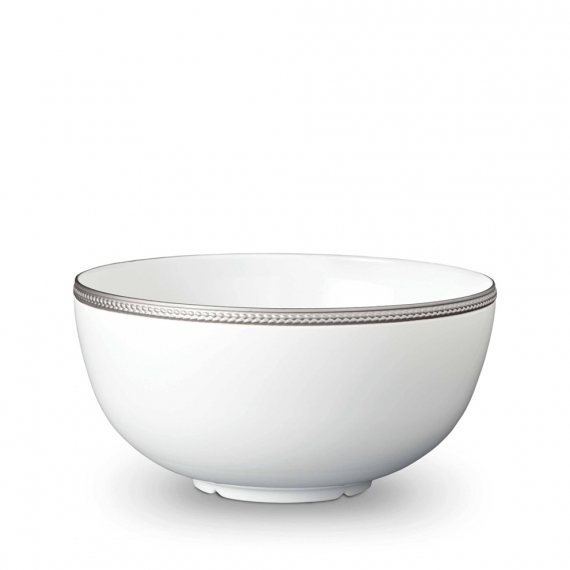 Soie Tressée Large Bowl - Platinum