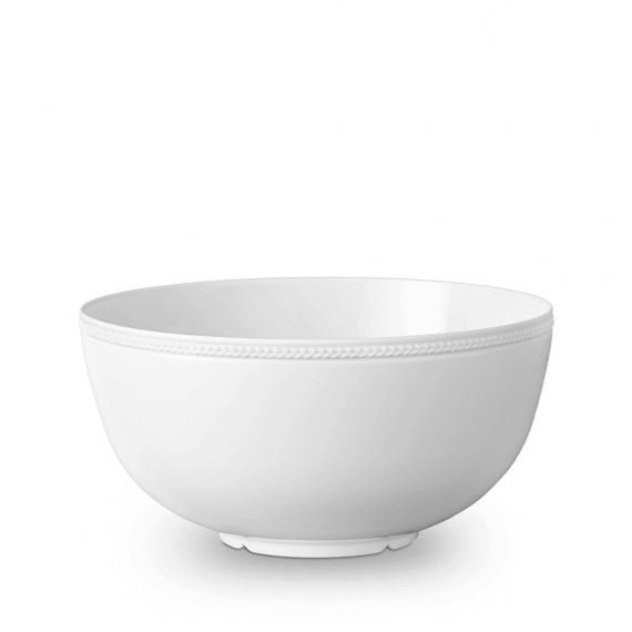 Soie Tressée Large Bowl - White