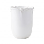 Berry & Thread Whitewash Wastebasket