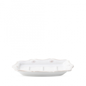 Berry & Thread Whitewash Soap Dish Set Of 2