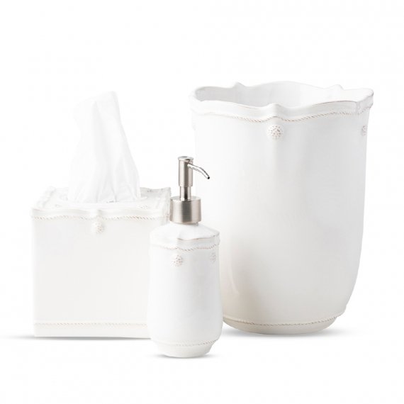 Berry & Thread Whitewash 3 Piece Bath Essentials Set