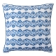 Juliska Iberian Journey Indigo Border Pillow