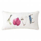 Forest Walk Love Pillow