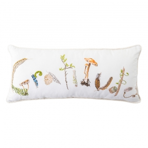 Forest Walk Gratitude Pillow