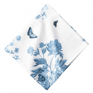 Field Of Flowers Chambray Napkin Set Of 4