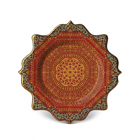 Tabriz Dessert Plates Set of 4