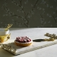 Michael Aram Cherry Blossom Cheese Board With Spreader Gold