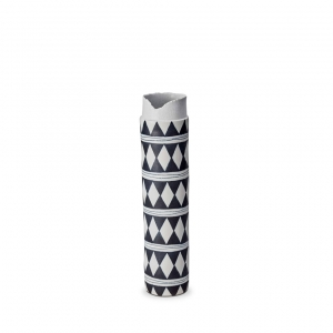 L'Objet Tribal Diamond Collar Large Vase
