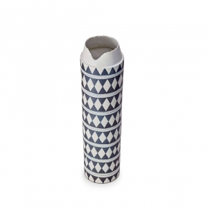 L'Objet Tribal Diamond Collar Extra Large Vase