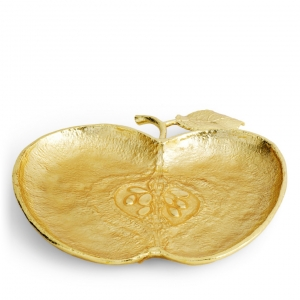 Apple Plate Gold