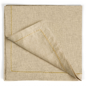 Thread Saddlestitch Dinner Napkins Set Of 4