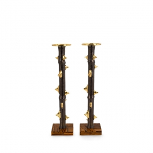 Thorn Luxe Candleholders Set of 2