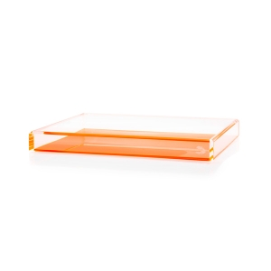 Alexandra Von Furstenberg Fearless Cocktail Orange Tray
