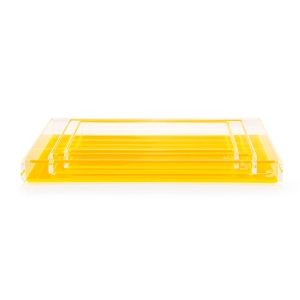 Alexandra Von Furstenberg Fearless Cocktail Yellow Tray