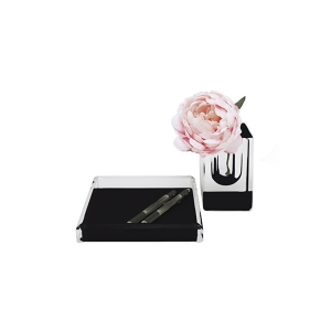 Alexandra Von Furstenberg Voltage Square Black Tray