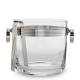 Ralph Lauren Bentley Ice Bucket & Tongs Silver