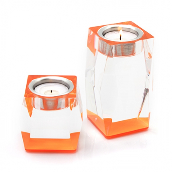 Votives Orange Candleholder