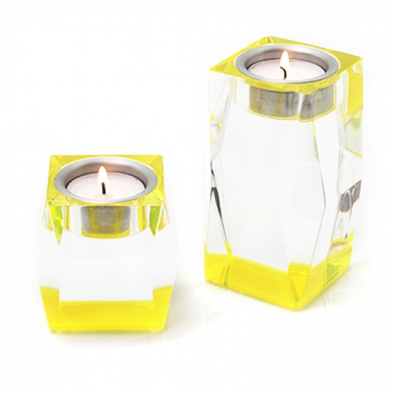Votives Yellow Candleholder