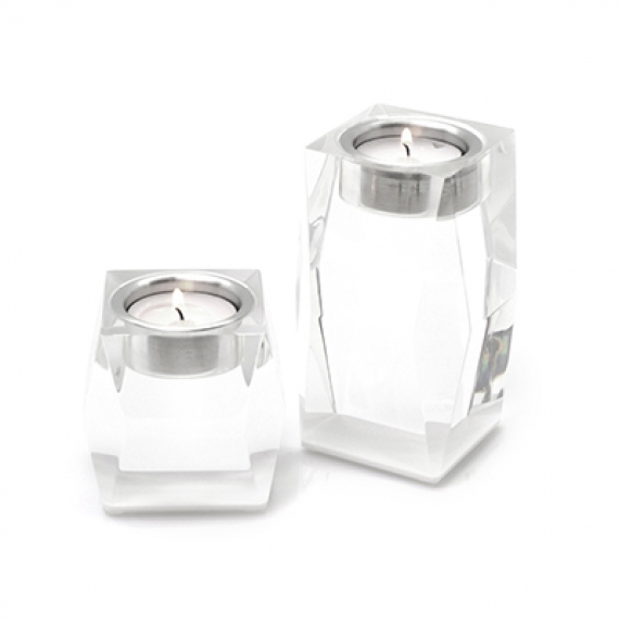 Votives White Candleholder