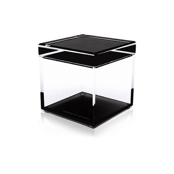 Cubic Treasure Boxes Black